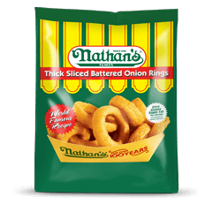 Thick Sliced Battered Onion Rings