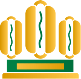 Hot Dog Trophy