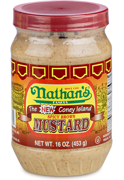 Nathans Spicy Brown Mustard