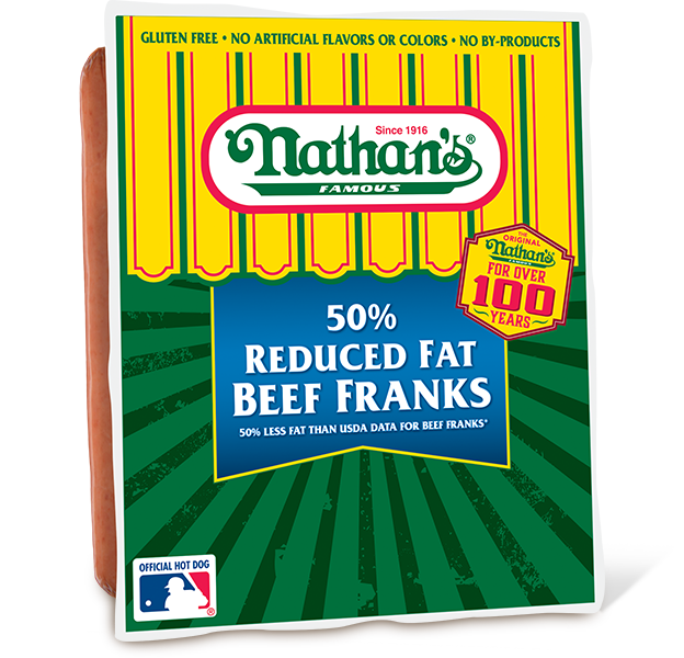 50 Reduced Fat Beef Franks