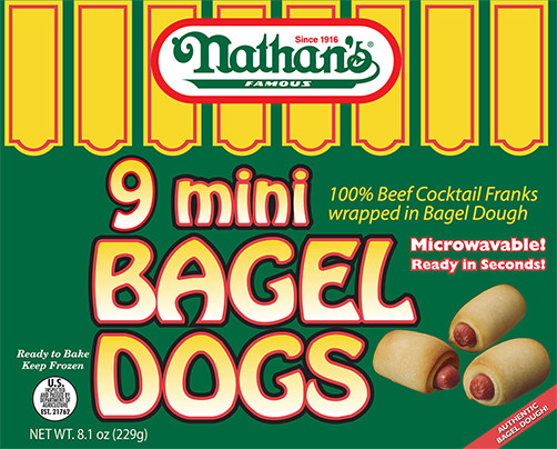 Mini Bagel Dogs