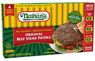 Beef<br>Steak Patties