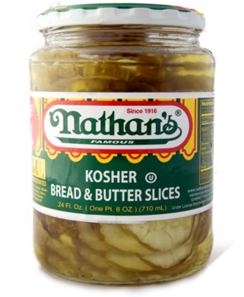 Kosher Bread  Butter Slices