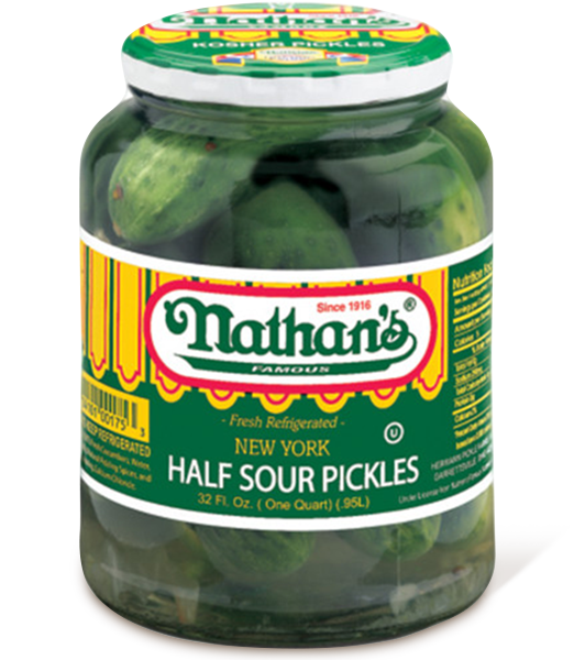 New York Half Sour Pickles