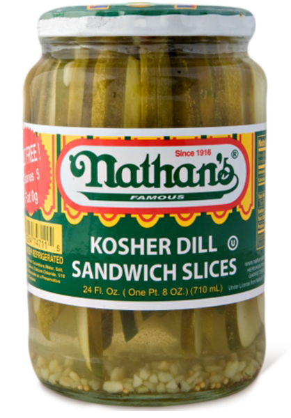 Kosher Dill Sandwich Slices