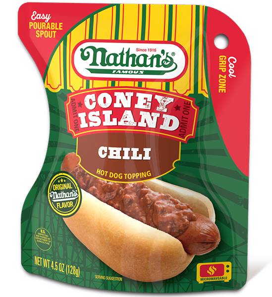 Coney Island Chili Hot Dog Topping