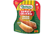 Coney Island Onion Sauce Hot Dog Topping